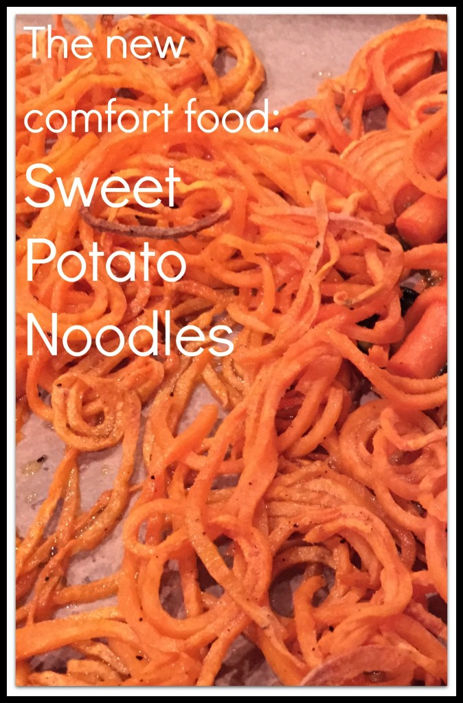 Sweet Potato Noodles are the new comfort food!