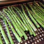 Grilled Asparagus prepped